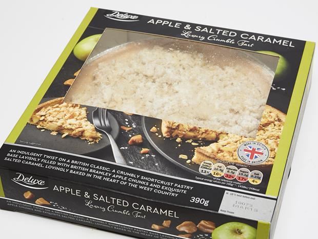 Lidl Deluxe Apple Salted Caramel Crumble Tart copy.jpg