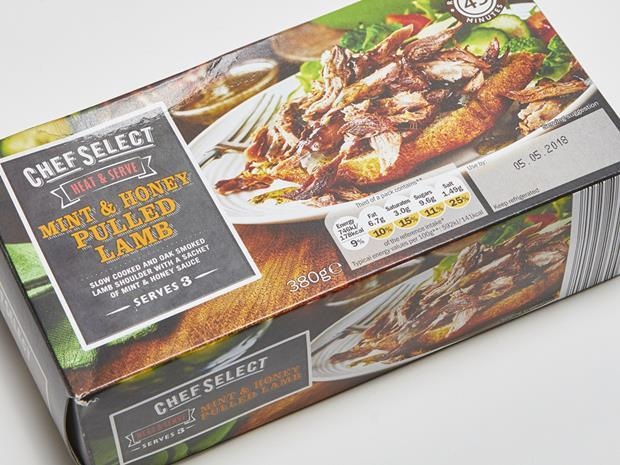Lidl Mint & Honey Pulled Lamb_0001