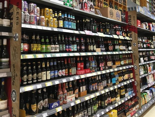 jempsons beer aisle