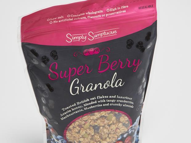 Lidl Super Berry Granola_0001