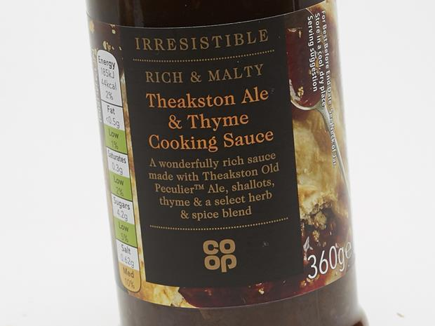 The Co-op Irresistible Theakston Ale & Thyme Cooking Sauce_0001