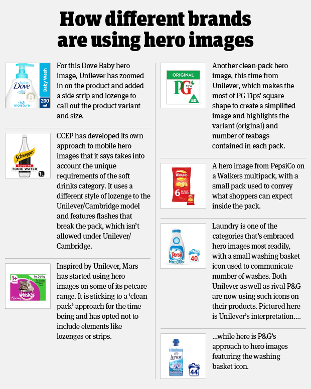 How different brands are using mobile ready hero images