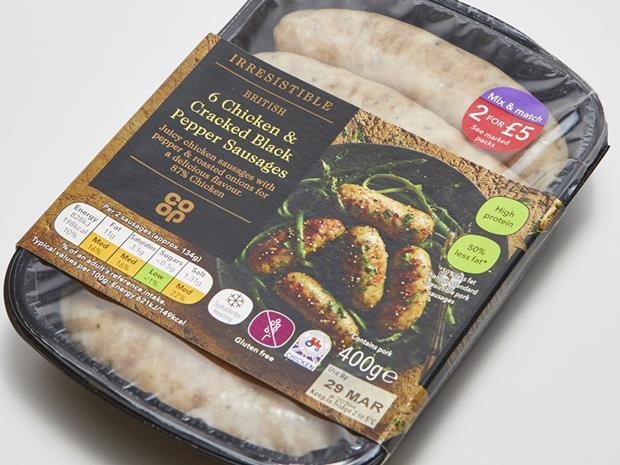 Co-op sausages