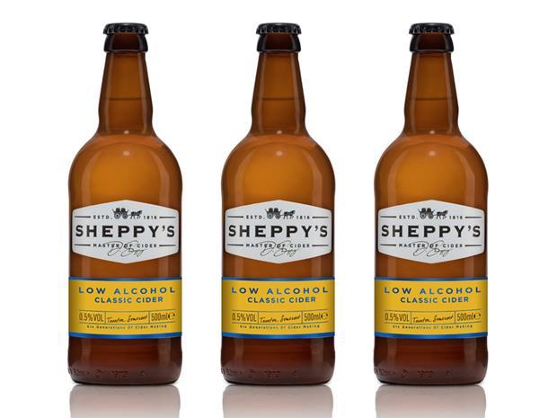 sheppys low alcohol cider