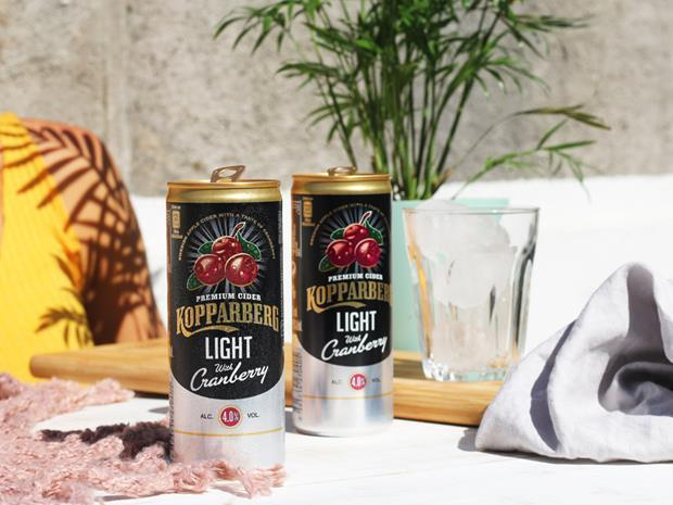 Kopparberg cranberry light
