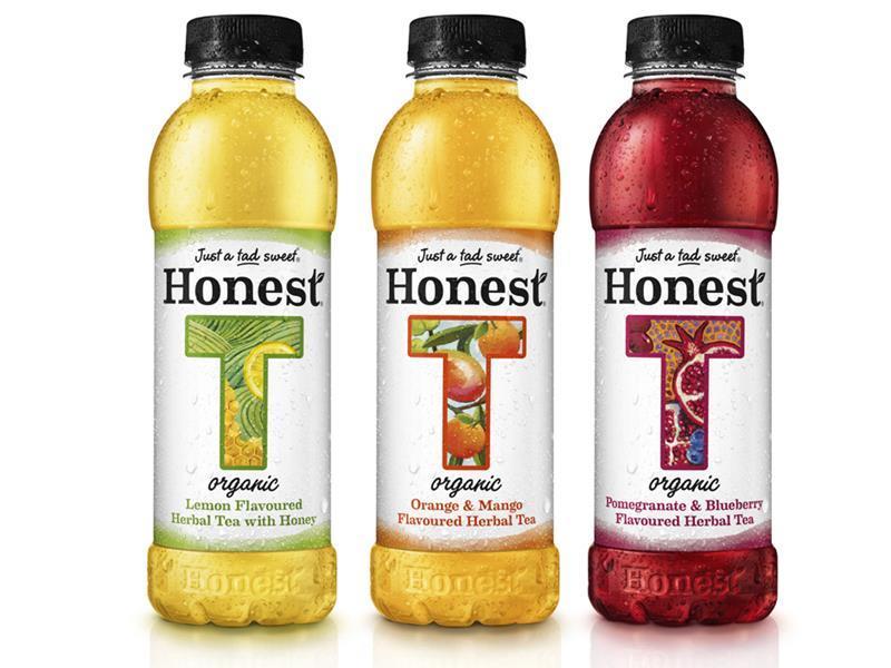 Coke Launches Honest Organic Bottled Tea In The Uk