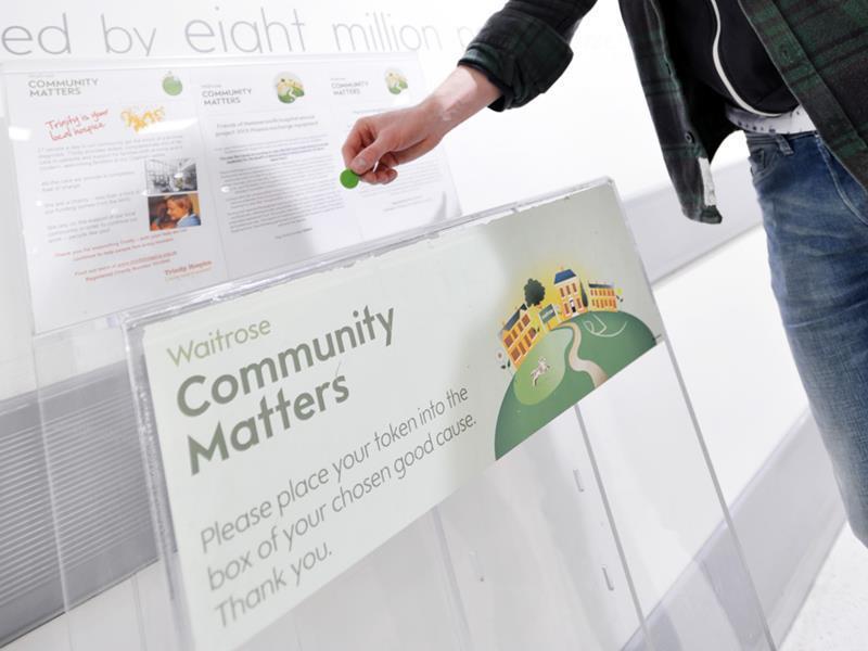 Waitrose Celebrates 10 Years Of Community Matters Charity Scheme