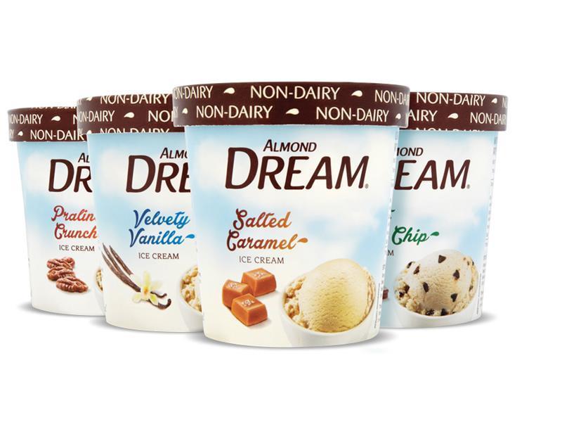 Almond Dream launches dairy-free ice cream Almond Dream