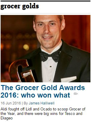 Grocer+Gold+Awards+2016+winners+on+the+night
