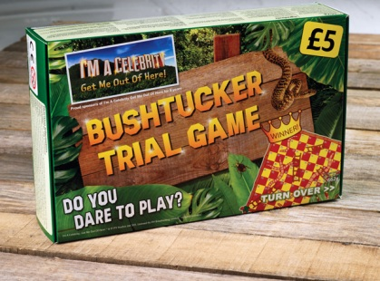 Bushtucker Iceland board game