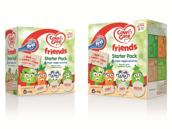 Cow Amp Gate Launches Friends Savoury Pouched Baby Food Range