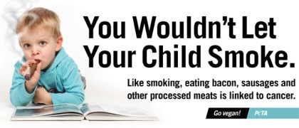 Peta smoking ad