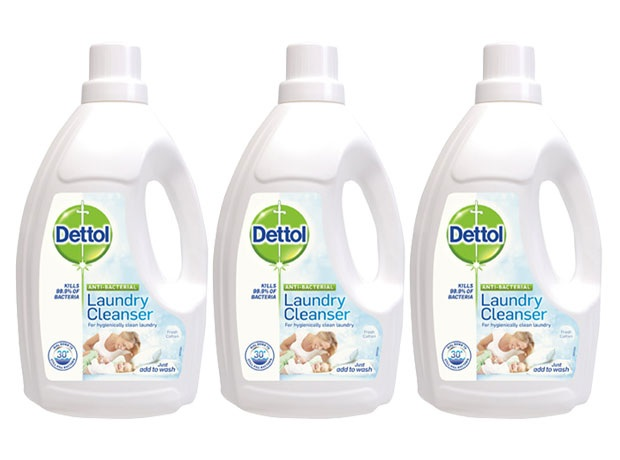 Dettol launches antibacterial Laundry Cleanser