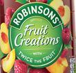 Robinsons Fruit Creations Delicious Peach & Raspberry