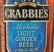 crabbie's light ginger beer