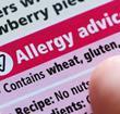 allergy label