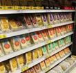 Tesco cheese aisle
