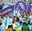 Manchester City winning the Premier League