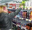 energy drinks aisle