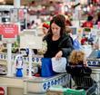 Tesco shopper checkout