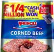 Princes corned beef promotion