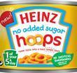 Heinz no added sugar Hoops, 205g