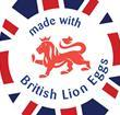 Made with British Lion eggs logo
