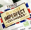 tesco perfectly imperfect wonky cucumbers