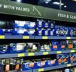 Aldi fish aisle