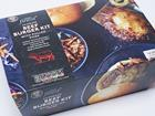 tesco burger and pulled pork kit
