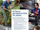 Tesco waste