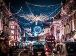 london regent high street christmas lights