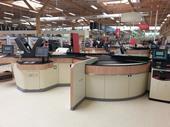 Tesco high-tech checkout at Lincoln