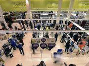 Tesco shop floor