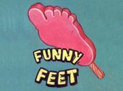 Walls Funny Feet