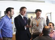 David Cameron visits Sainsbury's