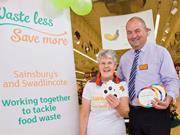 sainsbury's swadlincote waste less save more