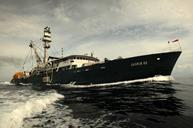 Pacifical tuna fishing boat