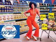 tesco 100th anniversary ad