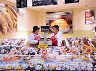 tesco fish counter