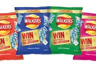 Walkers core crisp range with 2017 Pay Packet promo