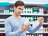Milk dairy consumer shopping choice