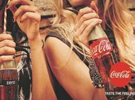Coke taste the feeling ad
