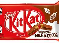 Lower sugar Kit Kat 2017