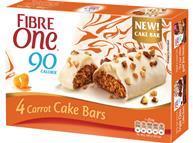Fibre One Cake Bars - Carrot Cake