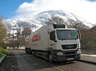 CJ Lang lorry