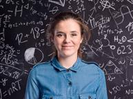 Physics young girl_single use