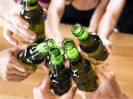 lager beer bottles cheers