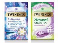 twinings new range tea