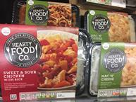 Tesco Hearty Food Co ready meals